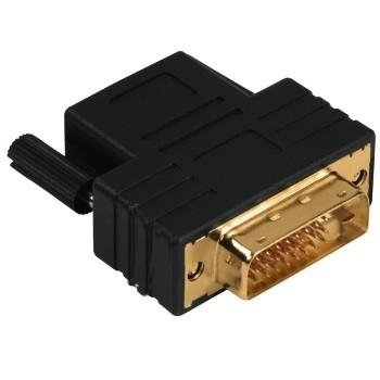 Redukce Redukce DVI-D vidlice - HDMI zásuvka, pozlacená