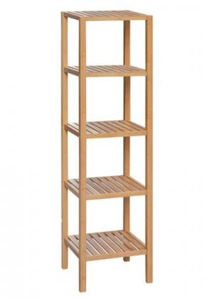 Regál DR-011-3 (bambus lakovaný)