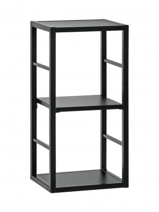 Regály Regál Cube 04 (černá)