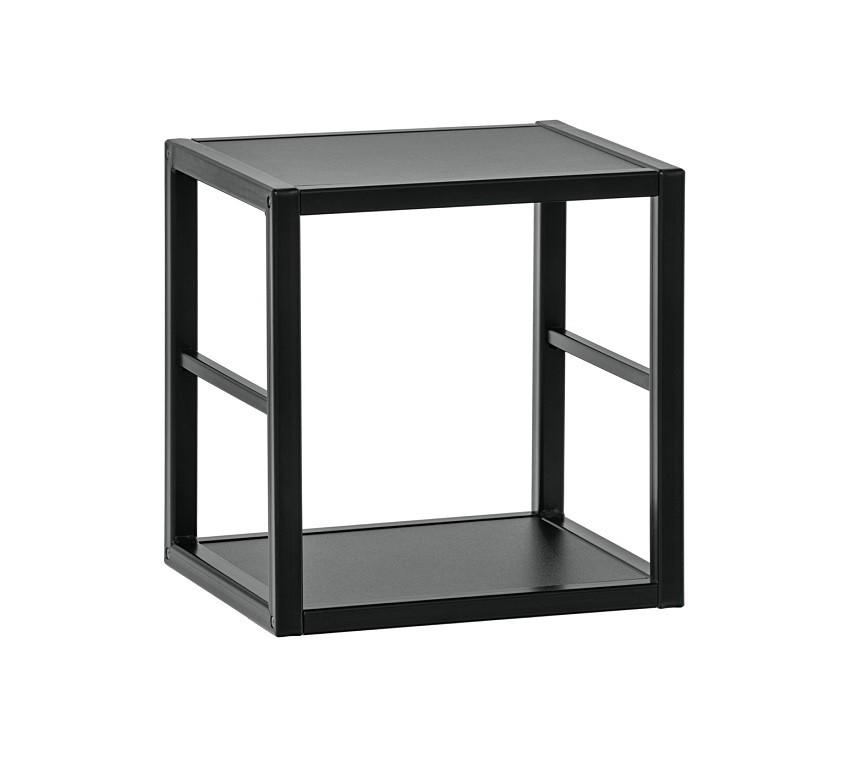 Regály Regál Cube 05 (černá)