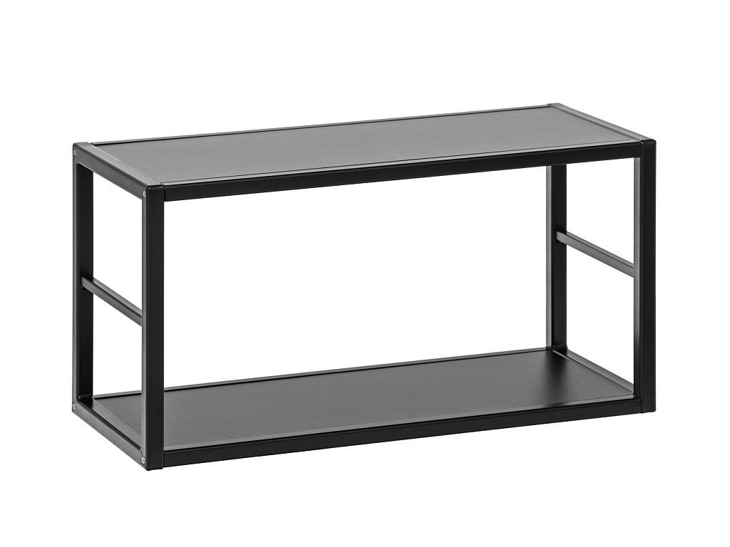 Regály Regál Cube 06 (černá)