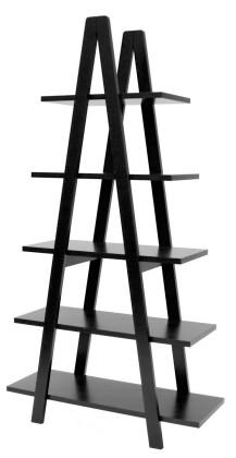 Regály Strada - 2008-024, regál (černá)