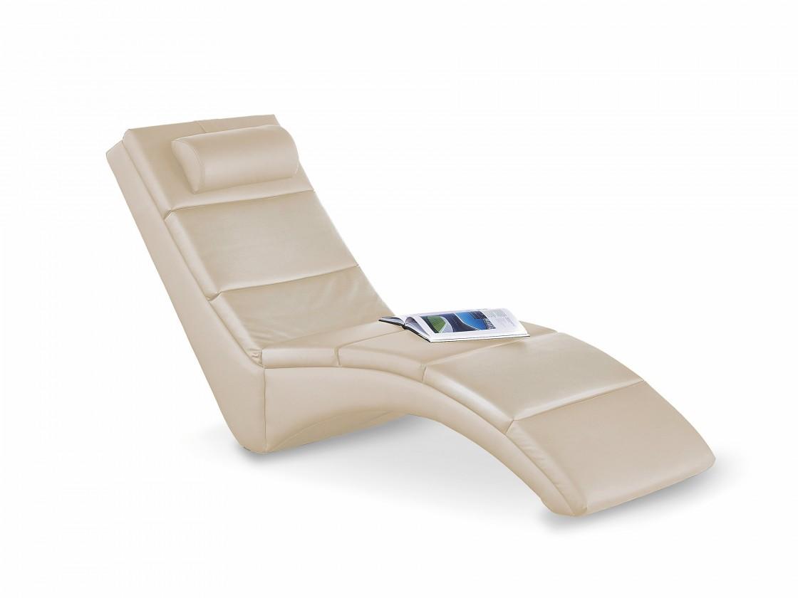 Relaxační Davis - Lehátko (eko kůže béžová)
