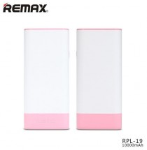 Remax powerbanka RPL-19 Youth, 10000 mAh, white-pink