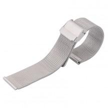 Řemínek Deveroux, š. 20mm, WD10, ocel. milán, easy ck, stříbr