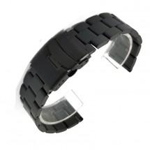 Řemínek Deveroux, š. 22mm, GD5, ocel. easy ck, černá
