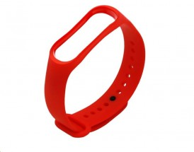 Řemínek pro Xiaomi Mi Band 3/4,červená