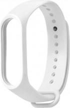 Řemínek pro Xiaomi Mi Band 3/4, silikon, bílá