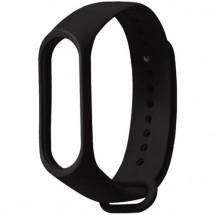 Řemínek pro Xiaomi Mi Band 3/4, silikon, černá