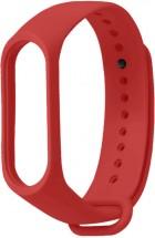 Řemínek pro Xiaomi Mi Band 3/4, silikon, červená
