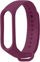 Řemínek pro Xiaomi Mi Band 3/4, silikon, fialová