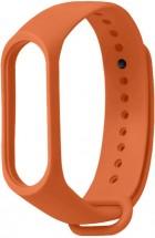 Řemínek pro Xiaomi Mi Band 3/4, silikon, oranžová