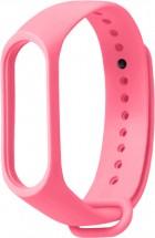 Řemínek pro Xiaomi Mi Band 3/4, silikon, růžová