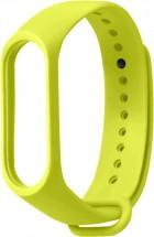 Řemínek pro Xiaomi Mi Band 3/4, silikon, zelená