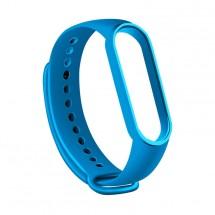 Řemínek pro Xiaomi Mi Band 5, silikon, modrá