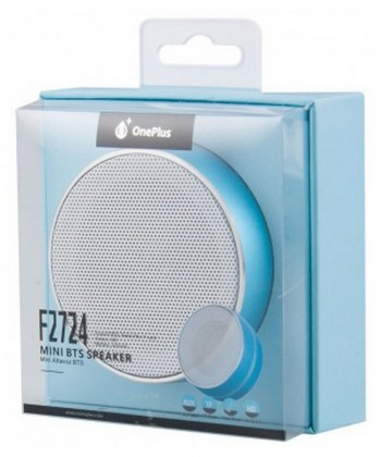 Reproduktory Bezdrátový reproduktor One Plus s FM rádiem, modrá