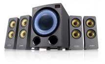 Reproduktory Fenda F&D F7700X, 4.1, 80W, RGB, BT 5.0, černá