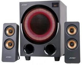 Reproduktory Fenda F&D F770X, 2.1, 76W, RGB, černá
