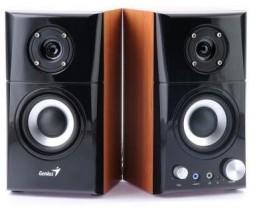 Reproduktory Genius SP-HF 599A, 2.0, 14W, černá/imitace dřeva