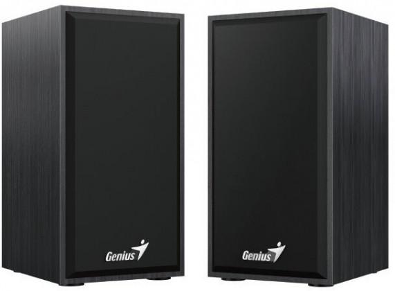 Reproduktory Genius SP-HF180, 2.0, 6W, dřevěné, černá