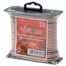Reprokabel Vivanco 18246, 1,5mm, 10m