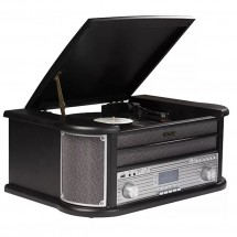 Retro gramofon Denver MRD-51, černý
