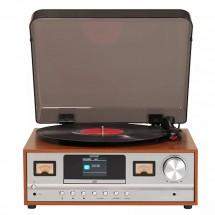 Retro gramofon Denver MRD-52, hnědý
