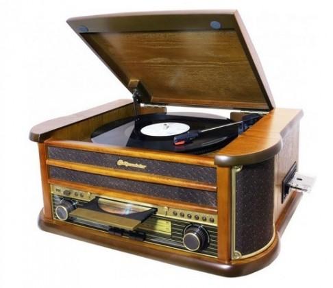 Retro gramofony Retro gramofon Roadstar HIF-1899TUMPK
