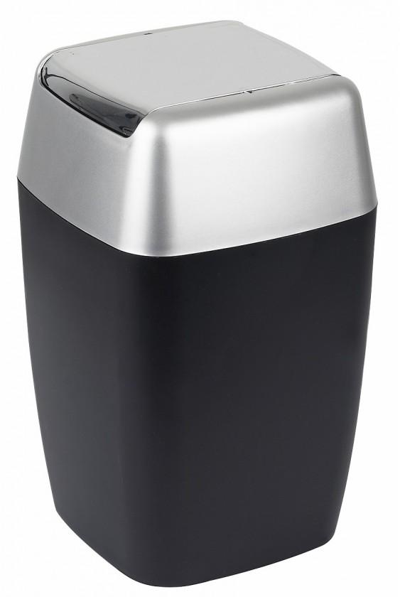 Retro-Odpadkový koš black(černá)