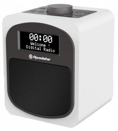 Retro rádio Roadstar HRA-600D, bílé