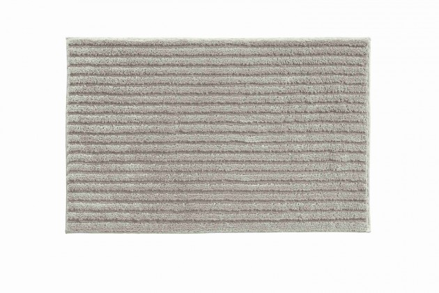 Riffle - Koupelnová předložka 60x100 cm (šedá)