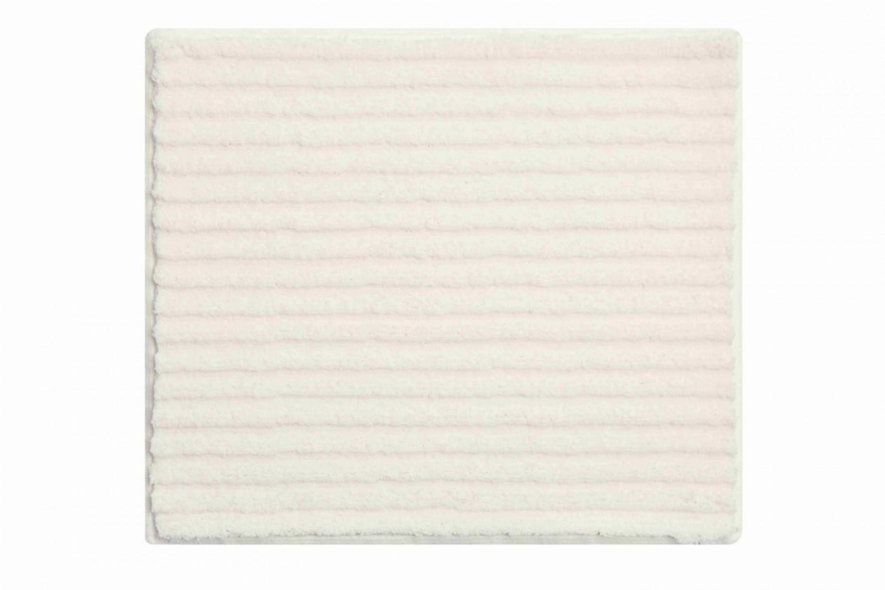 Riffle - Koupelnová předložka malá 50x60 cm (smetanová)