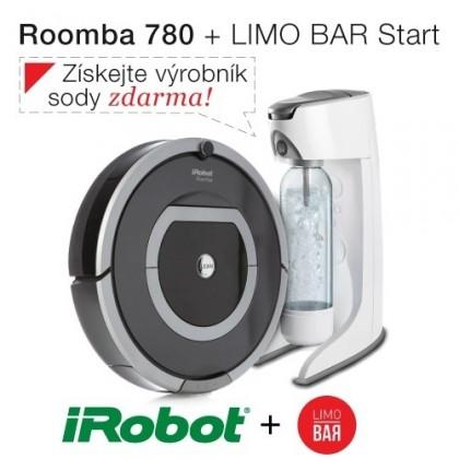 Robotický vysavač iRobot Roomba 780 + výrobník sody Limo Bar Start