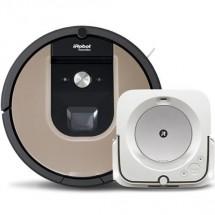 Robotický vysavač iRobot Roomba 976 a mop Braava jet m6