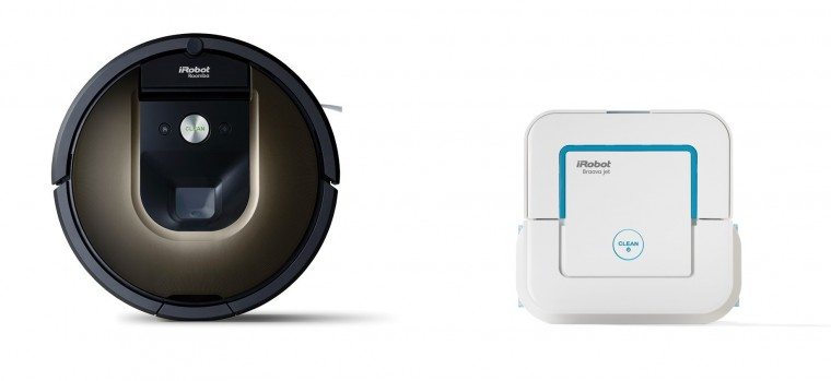 Robotický vysavač iRobot Roomba 980 + Braava jet 240