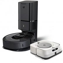 Robotický vysavač iRobot Roomba i7+ + mop iRobot Braava jet m6