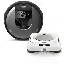 Robotický vysavač iRobot Roomba i7 + mop iRobot Braava jet m6 ROZ