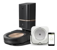 Robotický vysavač iRobot Roomba s9+ a mop Braava jet m6 POUŽITÉ,
