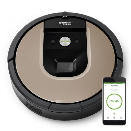 Robotický vysavač Robotický vysavač iRobot Roomba 966, WiFi