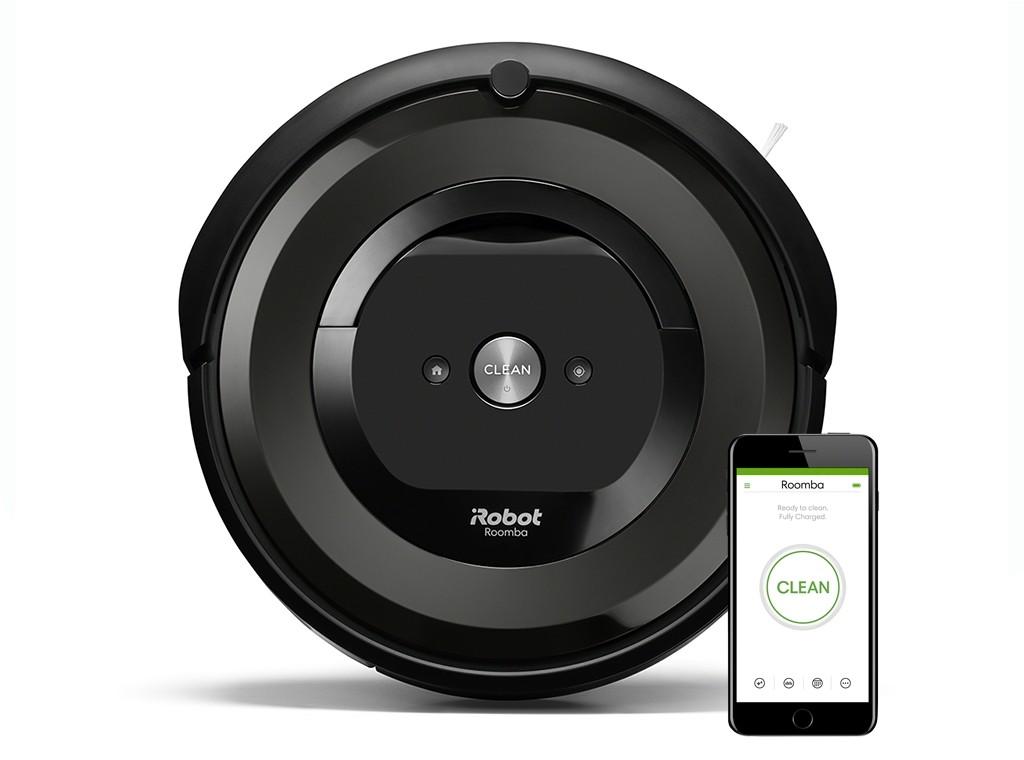 Robotický vysavač Robotický vysavač iRobot Roomba E5 Black, WiFi