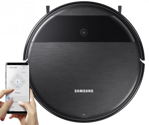 Robotický vysavač Samsung VR05R5050WKWB,2v1,150 m2