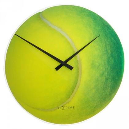 Roger - hodiny, nástěnné, kulaté (sklo, barevné)