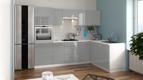 Rohová kuchyně Emilia Lux pravý roh 260x180 cm - II. jakost