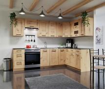 Rohová kuchyně Jorica pravý roh 270x190 cm (dub artisan)