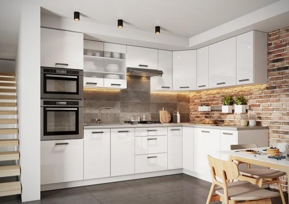 Rohová kuchyně Vicky pravý roh 290x180 cm - II. jakost