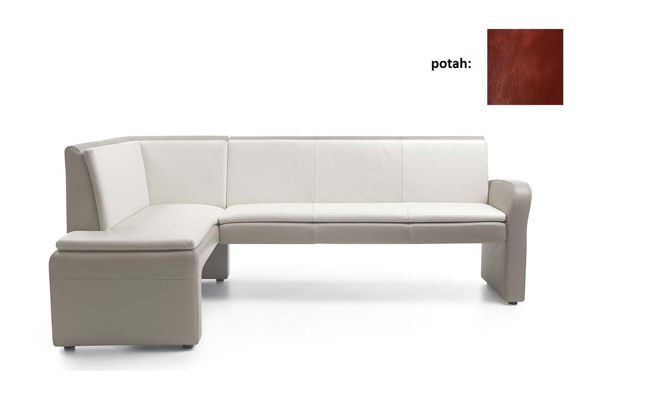 Rohová lavice Cortado - velká (prestige bonded - col.540)