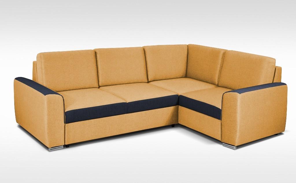 Rohová sedací souprava City - roh pravý, 2F(P)-OTL(L) (korpus - inari 41)