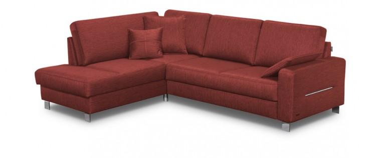 Rohová sedací souprava Costa - Roh levý, rozkládací, úložný prostor (hamilton 2816)