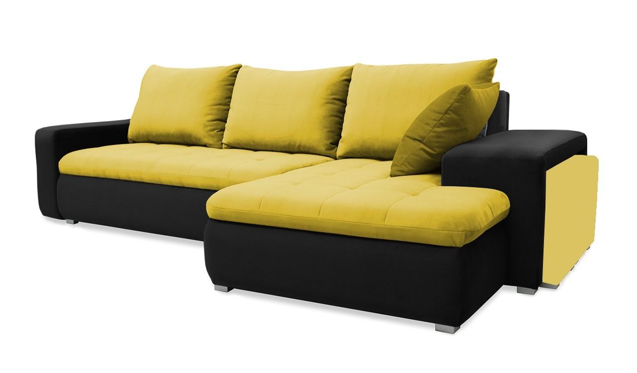 Rohová sedací souprava Demi - roh pravý (korpus - madryt 1100)