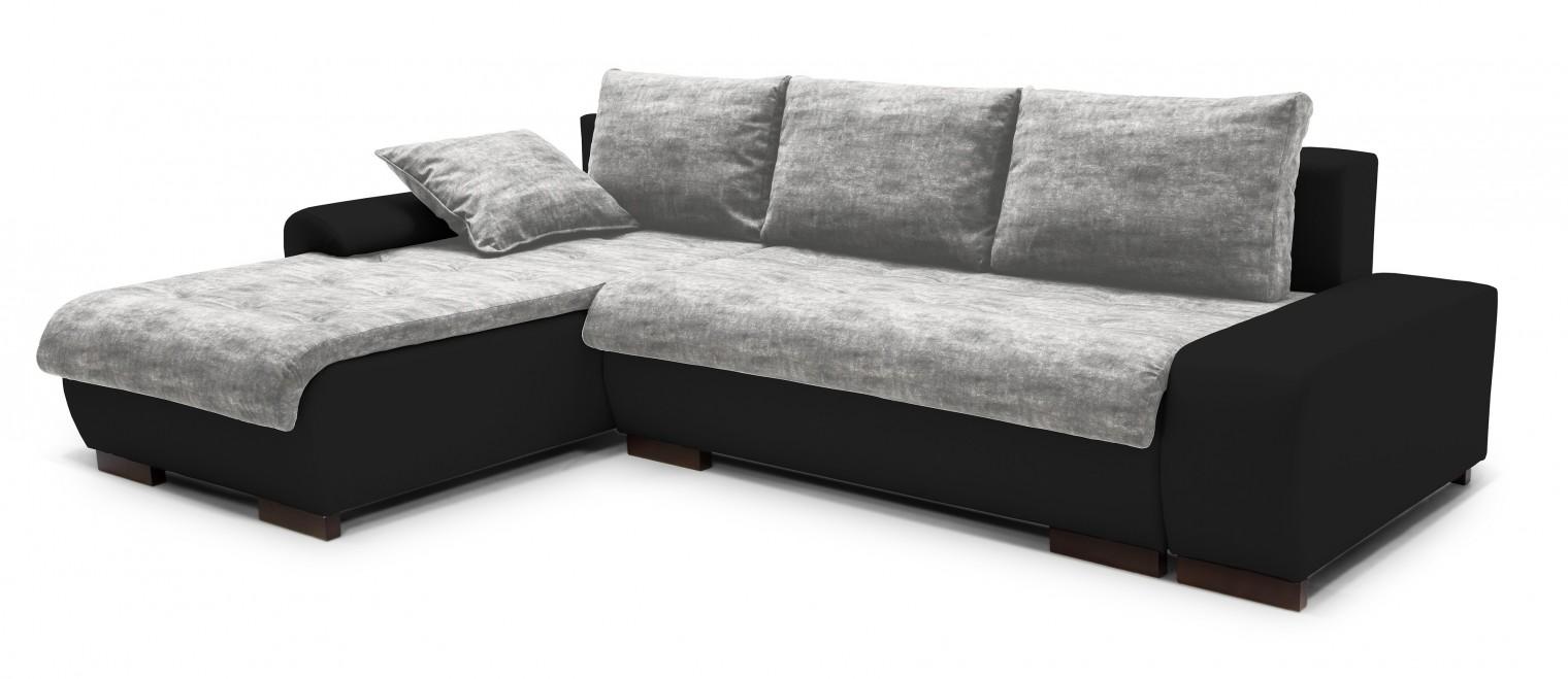 Rohová sedací souprava Florenz - roh levý (soft 11, korpus/gonzales 2901, sedák)
